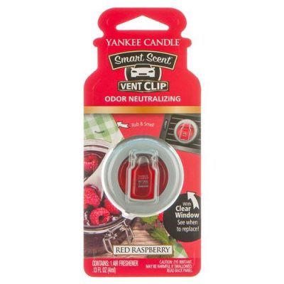 Vent clip - Red Raspberry